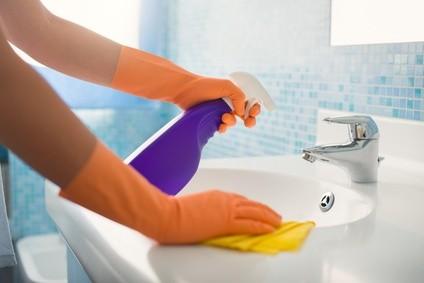 Nettoyage des sanitaires