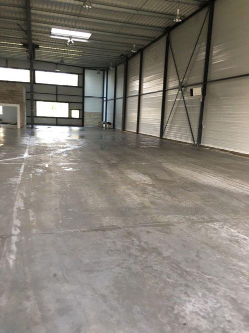Nettoyage complet d'entrepôt à Paris