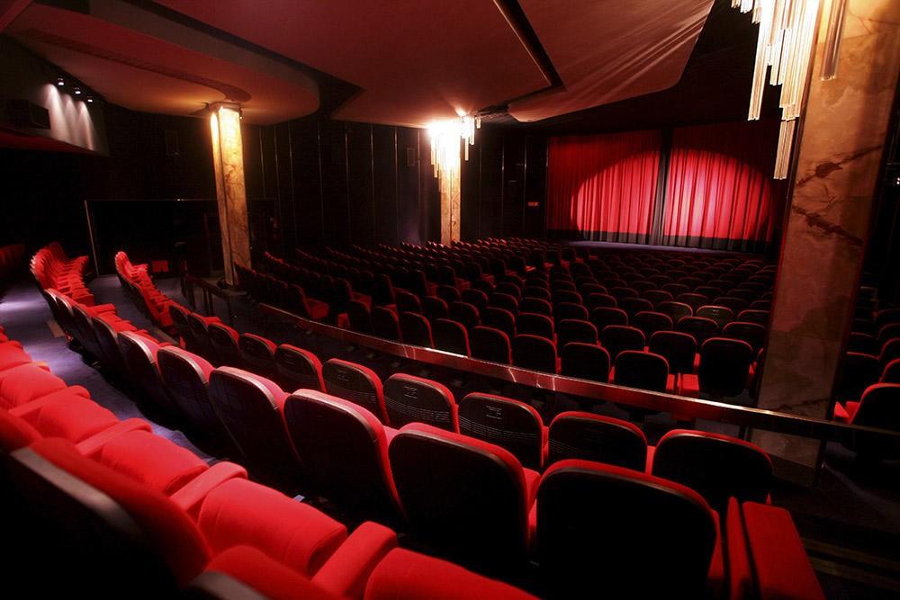 Nettoyage salle de cinéma