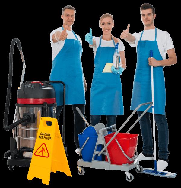 Equipe de nettoyage professionnel Paris